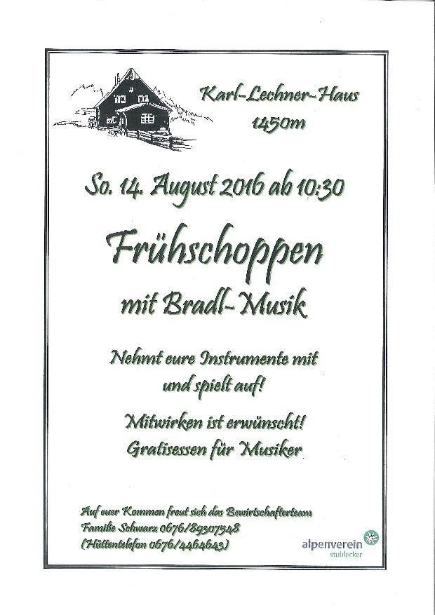 Karl Lechner Haus Bradlmusik